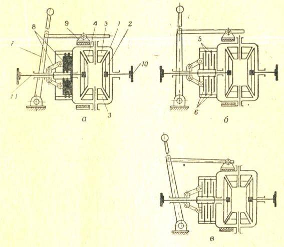 Схема простейшего механизма