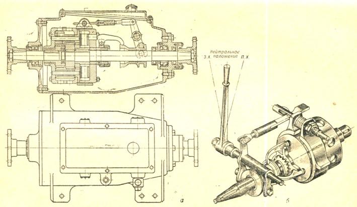 б-схема механизма